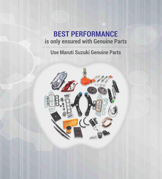 Maruti Suzuki Genuine Parts Online - Maruti Suzuki