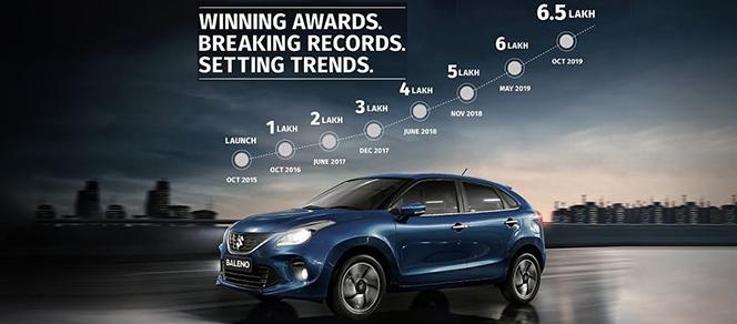 Maruti Suzuki Baleno gathers 6.5 lakh customers in 4 years